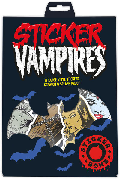 Sticker Bomb Vampires 12 pcs