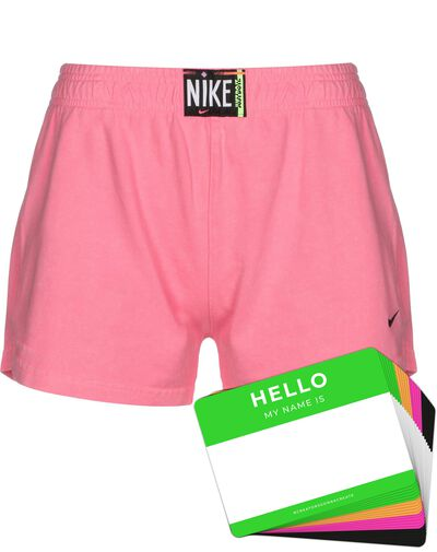 Nike Wash Shorts + HELLO Neon-Stickerpack   Pink Pack