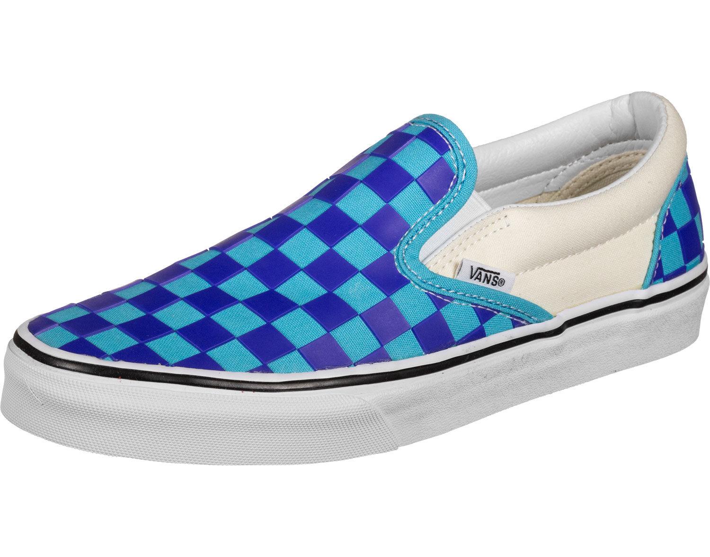 slip on bleu vans