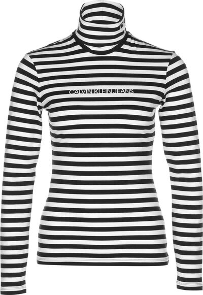Stripes Roll Neck