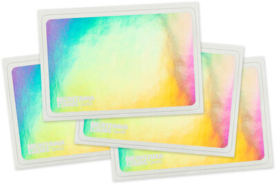 Hologram Sticker 50 pcs