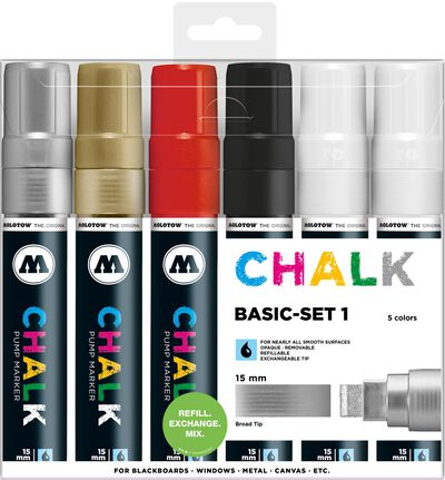 Chalk 15 mm Basic Set 1