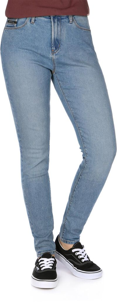 High Rise Skinny Ankle W