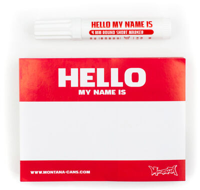 Hello My Name Is… 100 pcs