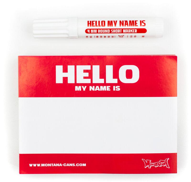 Hello My Name Is… 100 pcs