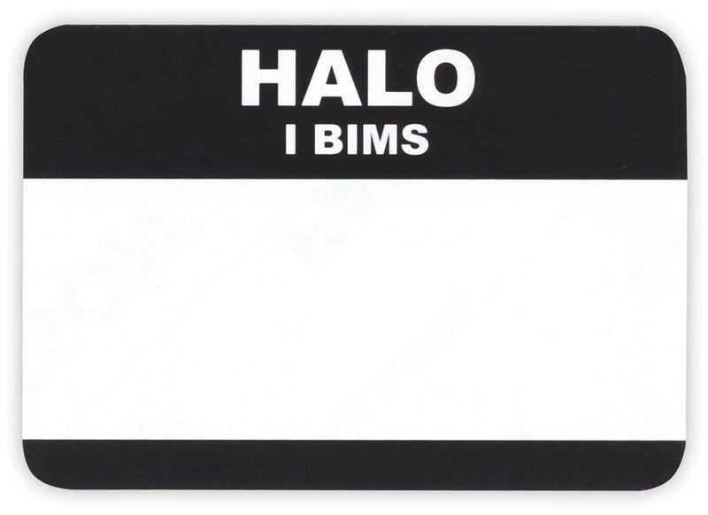 Halo I bims… 50pcs
