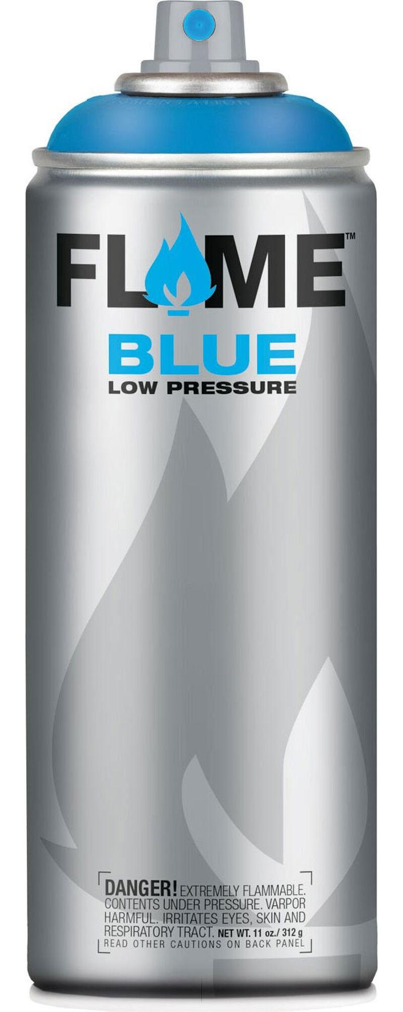 Flame Blue 400 ml Transparent