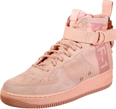SF Air Force Mid Suede