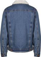 Cable Sherpa Denim