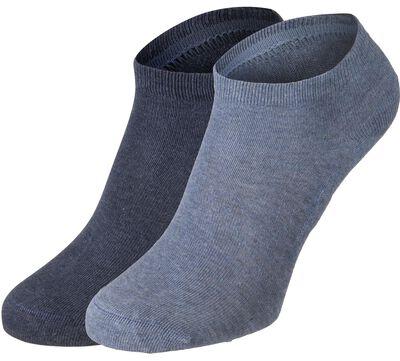 Cotton Sole Sneaker 2 Pack W