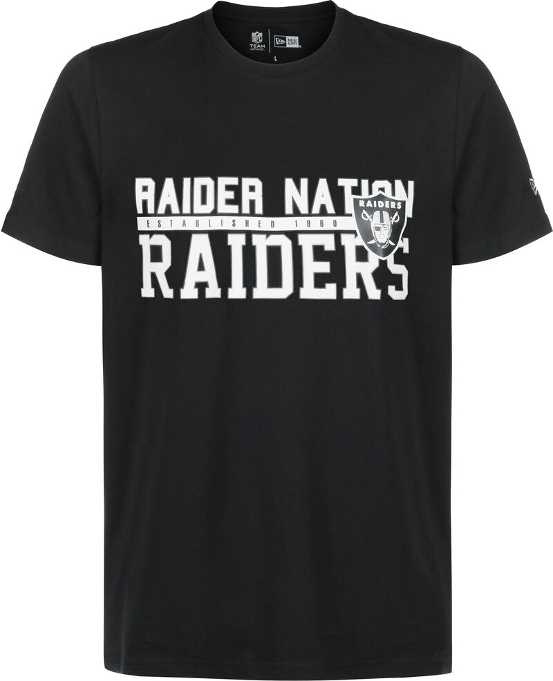 NFL Stacked Wordmark Oakland Raiders