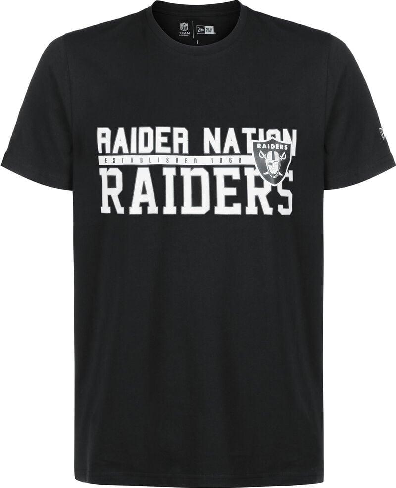 NFL Stacked Wordmark Oakland Raiders