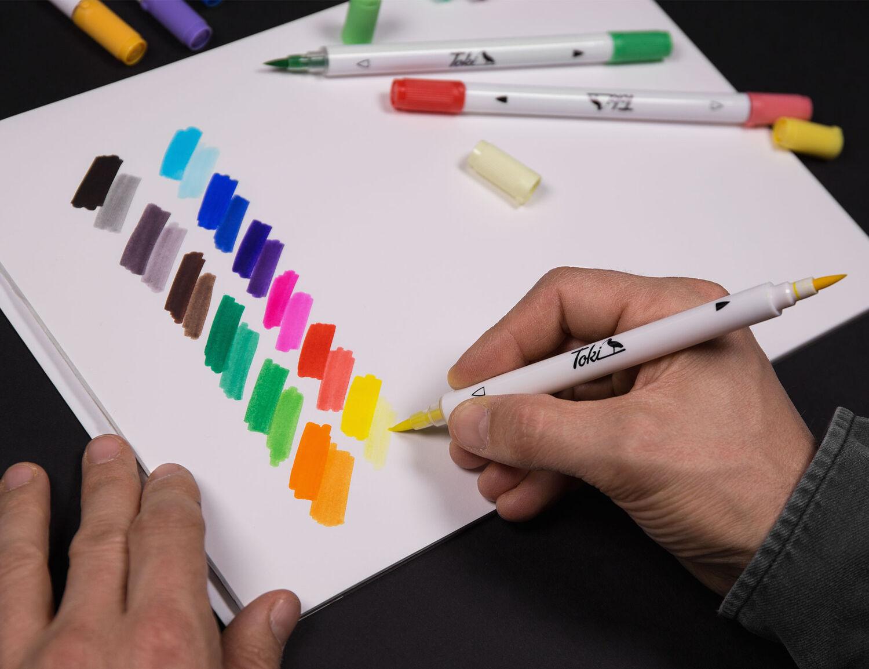 Twin-Colour Marker