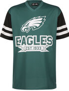 NFL Contrast Sleeve Oversized Philadelphia Eagles