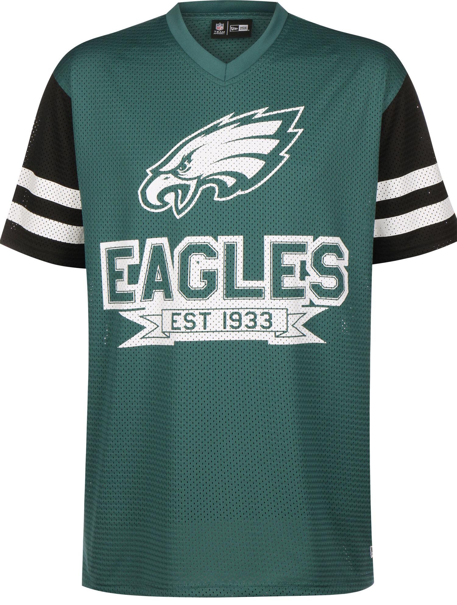 NFL Contrast Sleeve Oversized Philadelphia Eagles