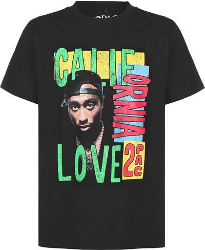 Tupac California Love Retro Oversized