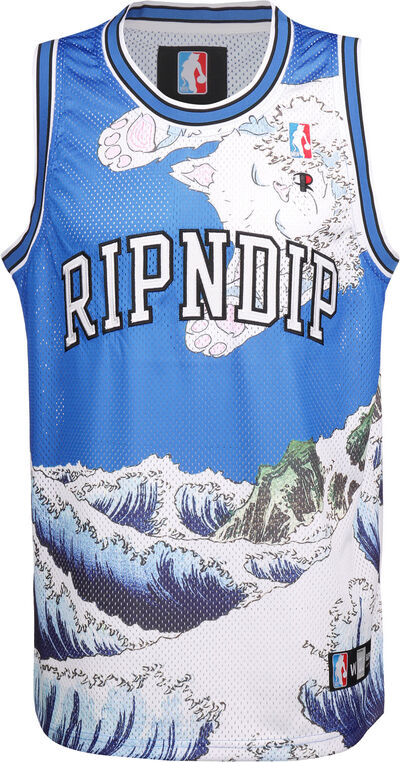 Great Wave Mesh Basketball