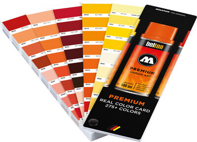 Premium Real Color Card