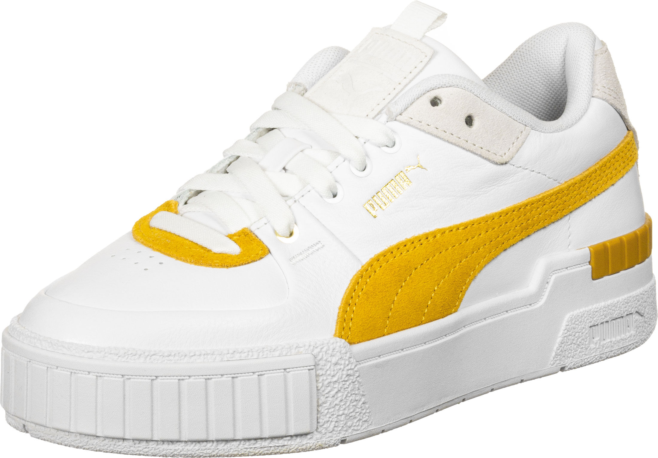 puma cali sport femme jaune
