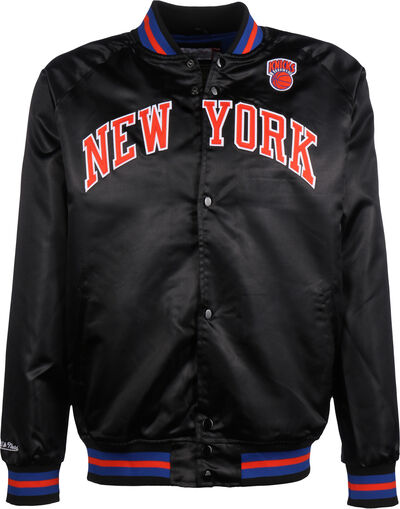Lightweight Satin NY Knicks