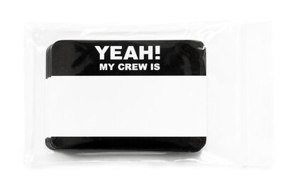 Yeah! My Crew is… 50 pcs