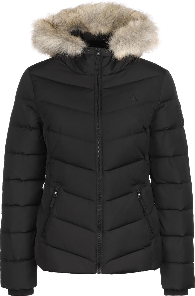 Short Down Fitted Puffer
