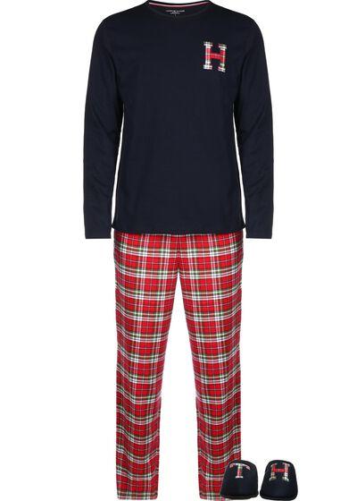 LS Pant Flannel Slipper Set