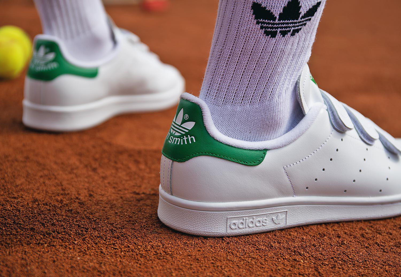 adidas Stan Smith CF chaussures blanc vert SO49781006