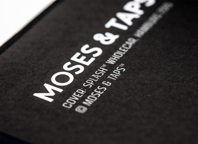 Moses and Taps Splash A5 Blanko