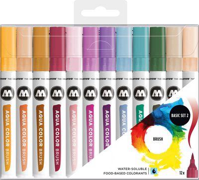 Aqua Color Brush