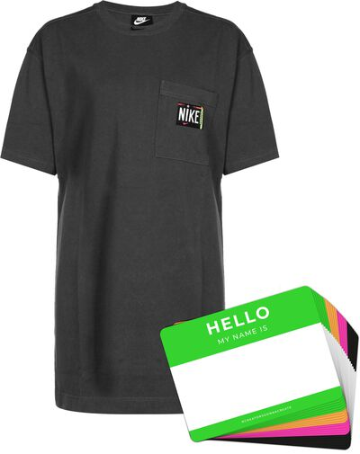 Nike Wash Dress + HELLO Neon-Stickerpack | Black Pack