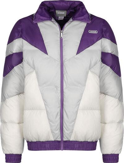 gris violet blanc