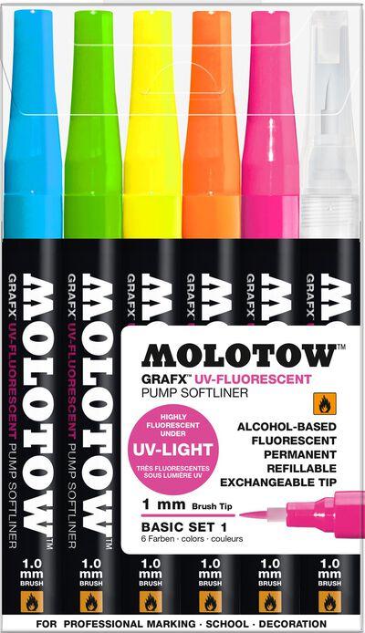 Grafx UV-Fluorescent 6x