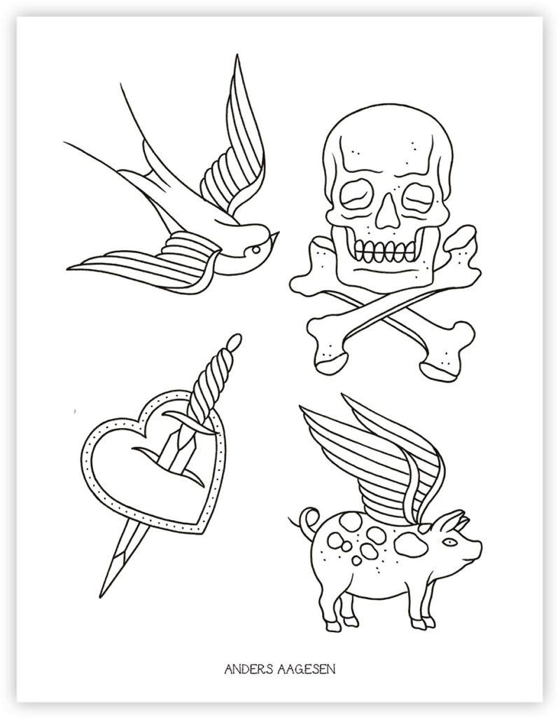 Tattoo Activity Book