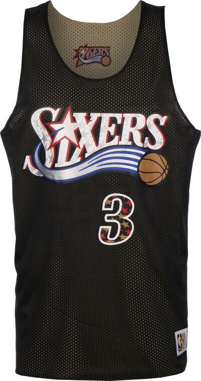 Reversible Philadelphia 76ers/All Star Iverson