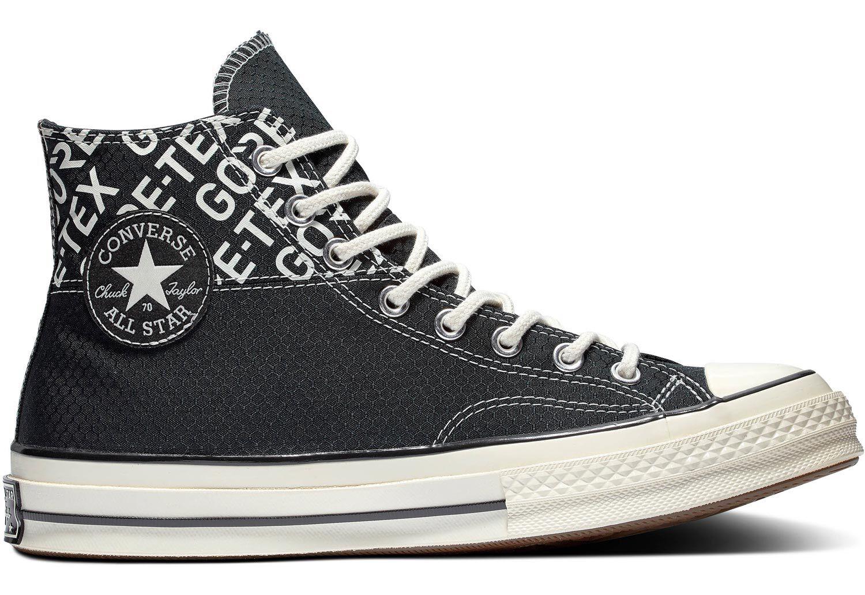 Hommes Converse Chuck 70 GORE TEX Hi Chaussures Noir
