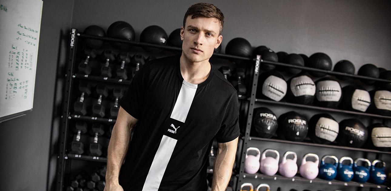 shirts de sport pour hommes