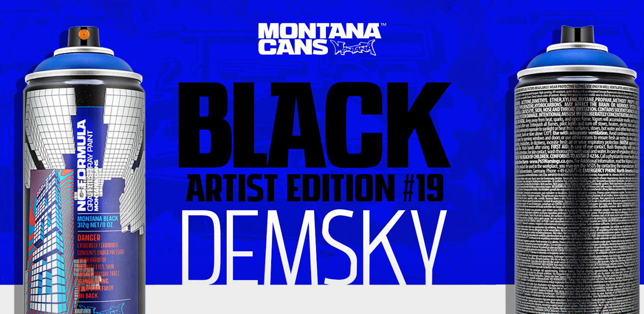 montana black artist edition