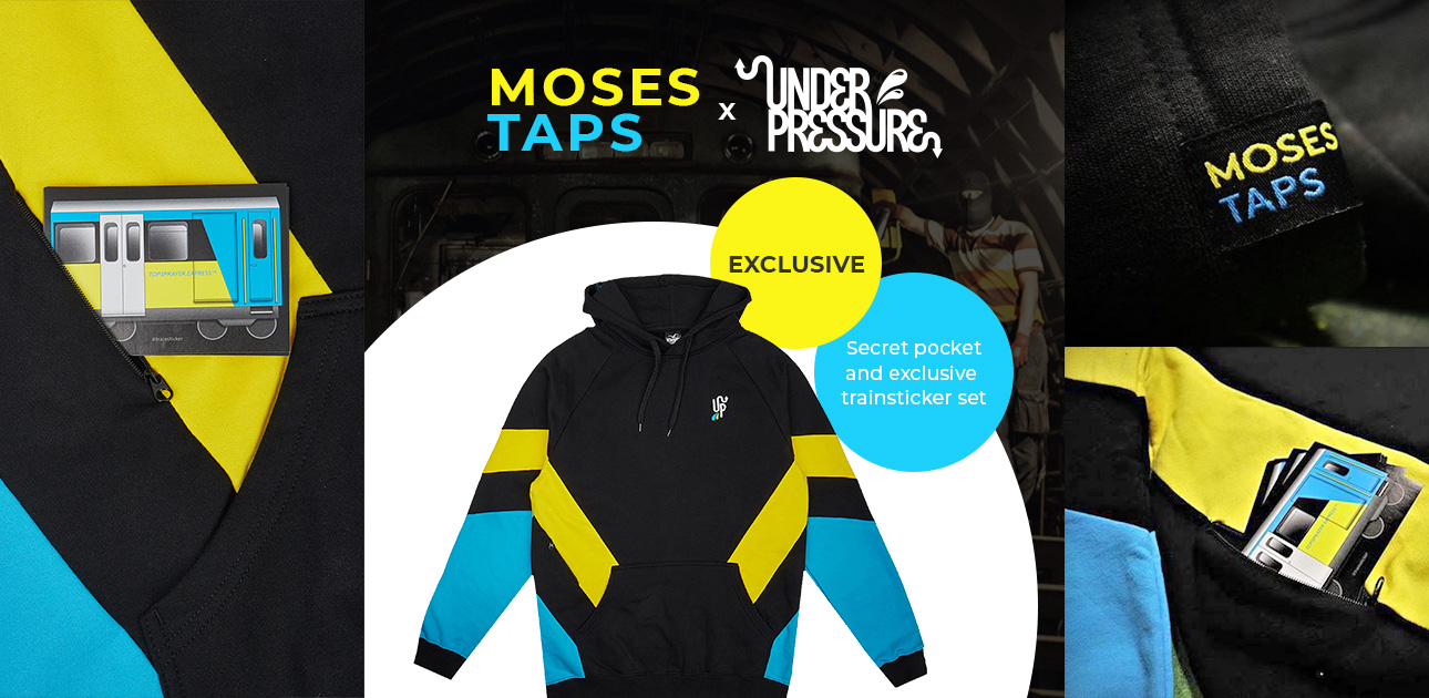 Under Pressure x Moses & Taps