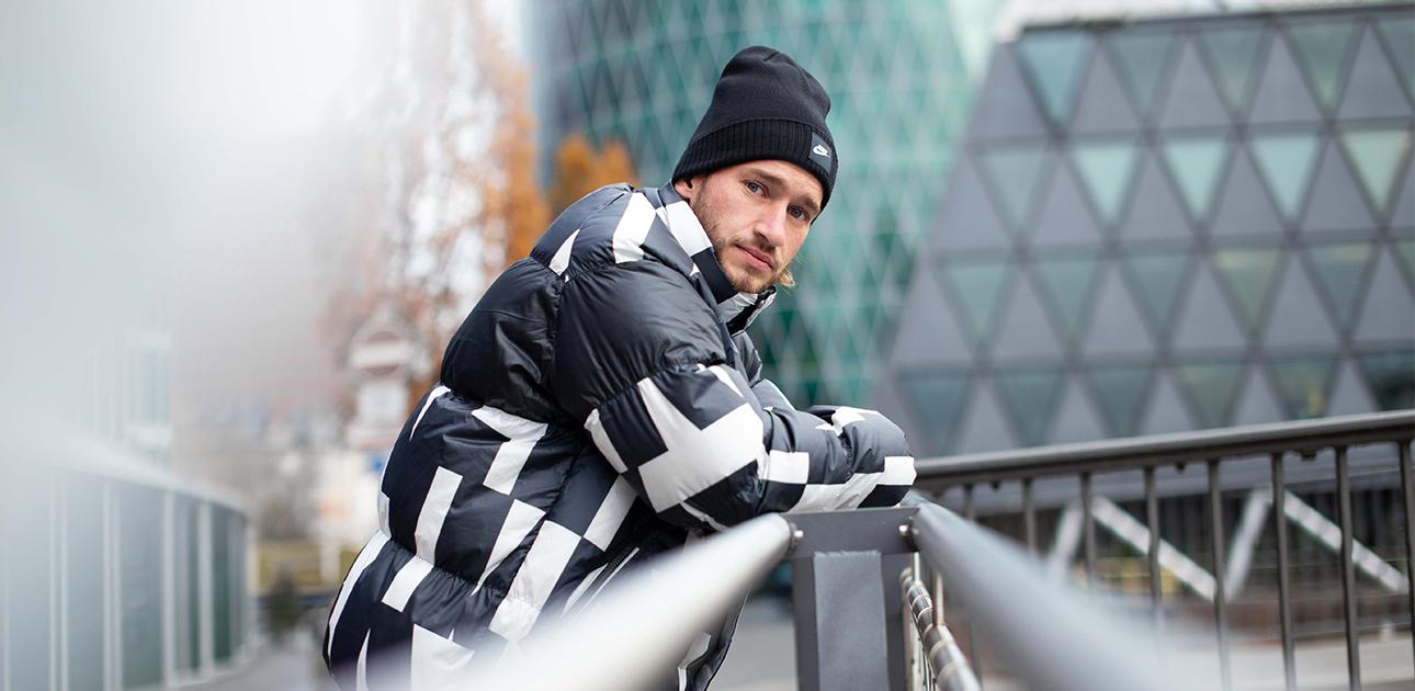 vestes d'hiver pour hommes