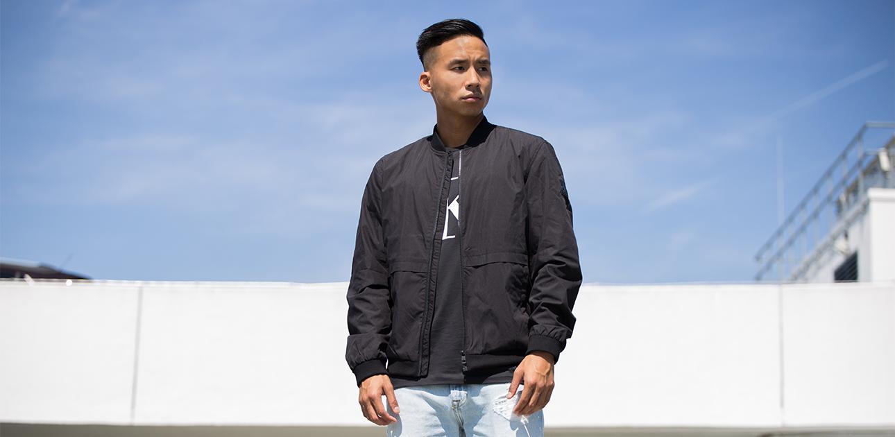 vestes légères pour hommes