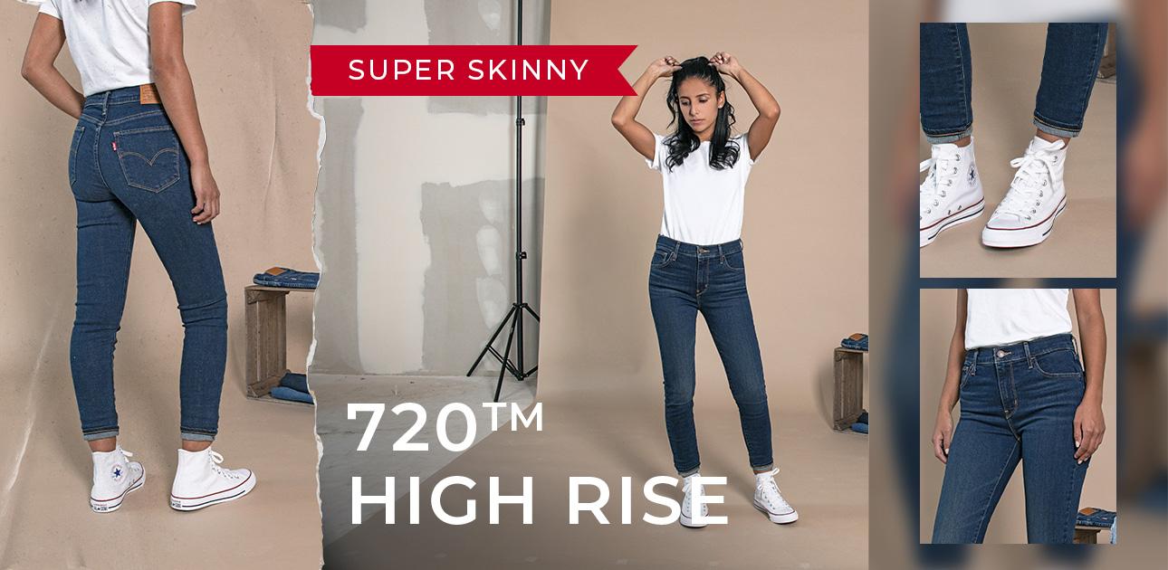 Super Skinny 720 High Rise