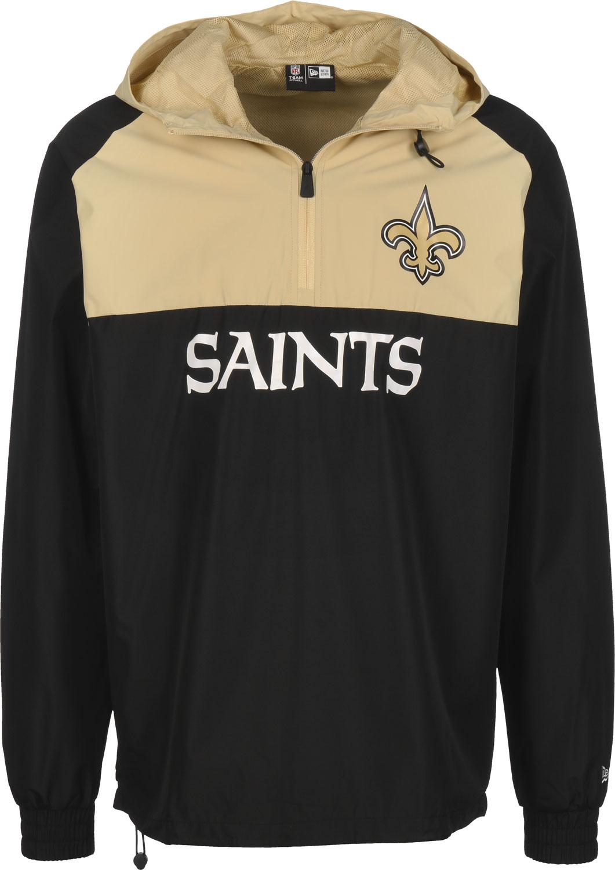 New Era NFL New Orleans Saints Sweat-Shirt /à Capuche-Noir