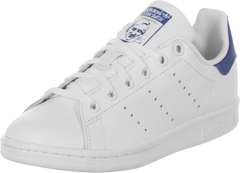 adidas stan smith blanche et bleu